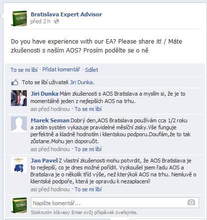 zkušenosti, facebook