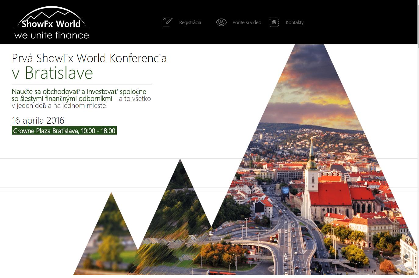 Forex na slovensku